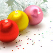 Royalty-Free Stock Photo: Colorful Christmas ornaments