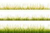 草の境界線 — ストック写真