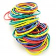 Elastic rubber bands — Stockfoto