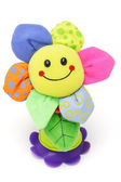 Sunflower smiley face doll — Stock Photo