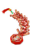 Chinese new year fire crackers — Stock Photo