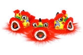 Chinese new year lion head ornaments — Stock Photo