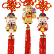 Stock Photo: Chinese prosperity figurines