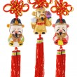 Chinese prosperity figurines — Stock Photo