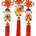 Chinese prosperity figurines — Stock Photo