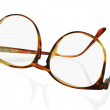 Large frame plastic spectacles — Stock Photo