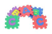 Blocchi puzzle colorato — Foto Stock