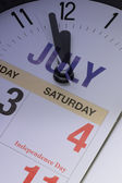 4th of July countdown — Stock Photo