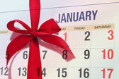 New year's day January 1 — Stock Photo