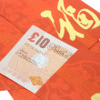 Stock Photo: Chinese New year red packets and Bristsh currency notes