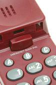 Emergency qucik dial buttons — Stock Photo