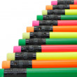 Colorful writing pencils — Stock Photo #6519838