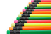 Colorful writing pencils — Stock Photo