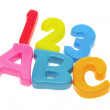 ABC and 123 — Stock Photo