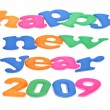 Happy New Year 2009 — Stock Photo