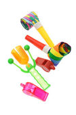Colorful party novelties — Stock Photo