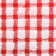 Checkered pattern texture of table cloth — Stock Photo