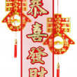 Stock Photo: Chinese new year auspicious greetings