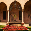 Cloister in Basilica of St Antonio - Padova Italy — Stock Photo
