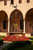 Cloister in Basilica of St Antonio - Padova Italy — Stock Photo