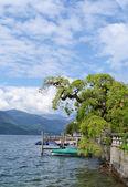 Lago orta - piemonte - itálie — Stock fotografie