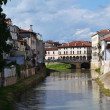 Stock Photo: River Bacchiglione in Vicenz- Italy
