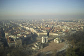 Panoramic view of Milano - Italy — Stock Photo