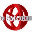 Royalty-Free Stock Photo: No Smoking Concept  Illustration