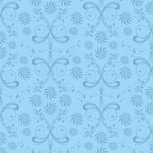 Ornamental floral seamless background — Stockfoto