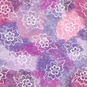 Floral seamless background — Stock Photo