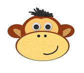 Illustration of a monkey — Stock Photo
