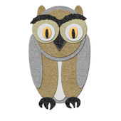 Illustration of an owl — Foto Stock