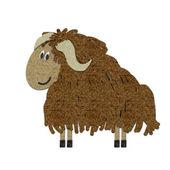 Sentita l'illustrazione di yak — Foto Stock