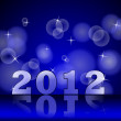 Stock Photo: 2012 Happy New Year