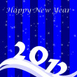 Royalty-Free Stock Photo: 2012 Happy New Year