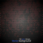 Vector metal background for your design — Stock Vector