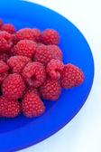 Raspberries from the garden — Stock Photo