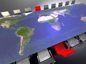 Mezinárodní setkání — Stock fotografie