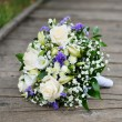 Wedding flowers bouquet — Stock Photo #6157251