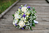 Wedding flowers bouquet — Foto de Stock
