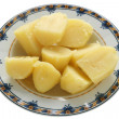 Boiled potato — Stock Photo