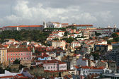 View on city Lisbon — Stock Photo