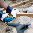 Building a patio — Stock Photo #6085510