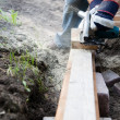 Building a patio — Stock Photo #6085511
