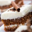 Carrot cake - Stock Photo