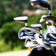 Golf clubs - Stock Photo