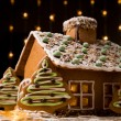 gingerbread house — Stock Photo