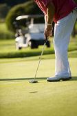 Gra w golfa — Zdjęcie stockowe