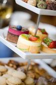 Delicious cakes — Stock Photo