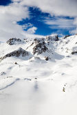 Alps in winter — Stock Photo